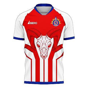 Chivas 2020-2021 Home Concept Jalkapallosarja (Libero)