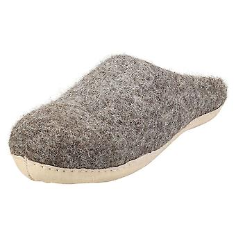 egos copenhagen Slipper Natural Brown Unisex Slippers Shoes in Natural Brown