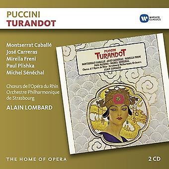 Puccini / Lombard, Alain - Turandot [CD] USA import