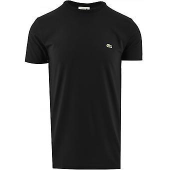Lacoste Musta Lyhythihainen Crew Neck T-paita