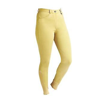 Caldene Womens/Ladies Aintree Mid Waist Self Fabric Knee Breeches
