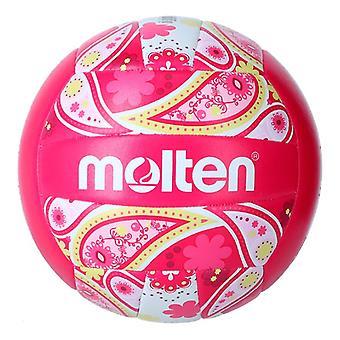 Beach Volleyball Ball Molten V5B1300 Rose (Taille 5)