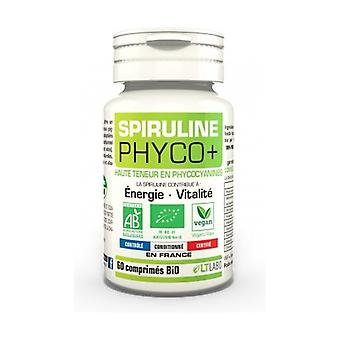 Organic Spirulina Phyco + 60 tablets