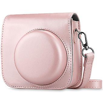 Fintie protective case for fujifilm instax mini 8 mini 8+ mini 9 instant camera - premium vegan leat wof65577