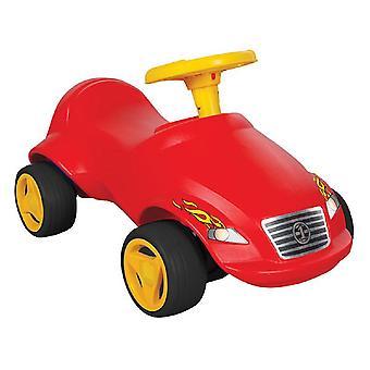 Pilsan Slider fast 07820 röd, slip bil, ratt med horn, från 2 år
