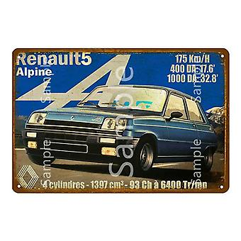 Classic Suv Racing Car Jeep Metal Plaque Tin Plate Sign Vintage Metal Poster