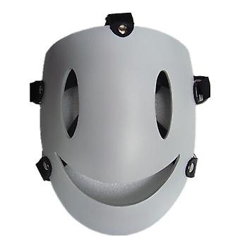 Arrive Mask Sniper High-level Fire Smiley Face Mask Halloween Props Mask