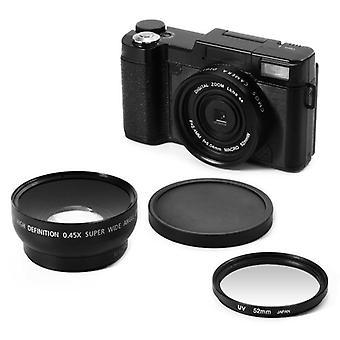 Fotocamere digitali professionali con teleobiettivo 4x Fisheye e obiettivo grandangolare