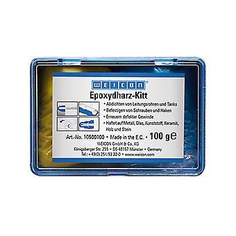 Weicon 10500100 E-Kitt Epoxy Resin Putty 100g