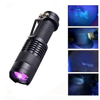 Kevyt kädessä pidettävä puu'lampun aallonpituus ultraviolettidiagnostiikka uv ihon sienentunnistusanalysaattori +taskulamppu toiminto
