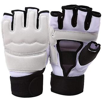 Gloves Kickboxing Fingerless For Punching Taekwondo, Fits Women & Men