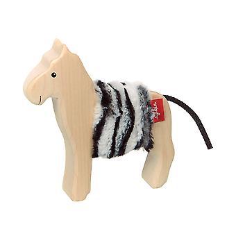 sigikid Houten Dier Zebra Cudly Wudly