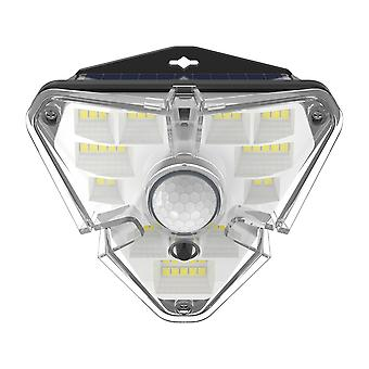Solar outdoor lamp with motion sensor