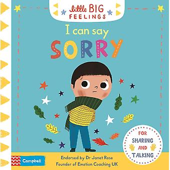 I Can Say Sorry by Campbell Books