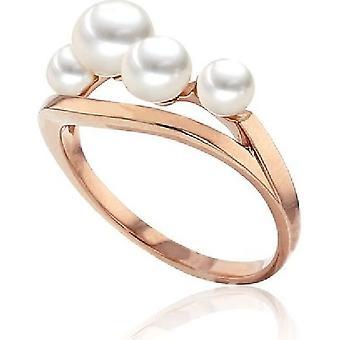 Luna-Pearls Pearl Ring Freshwater Pearl 4.5-6mm 585/- Rosegold Gr 56 (17.8mm)
