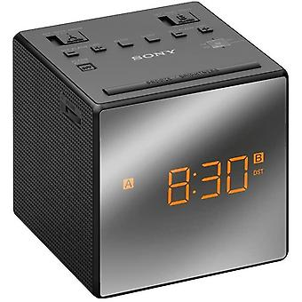 FengChun ICF-C1TB Uhrenradio mit LED-Display, schwarz