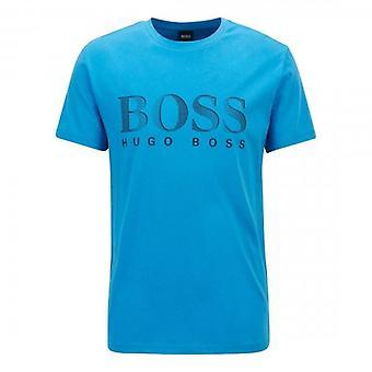 Hugo Boss T-paita RN UV-Suoja logo T-paita Kirkas sininen 438 50407774