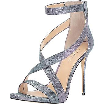 Imagine Vince Camuto Womens Devin Leather Open Toe Ankle Strap Classic Pumps