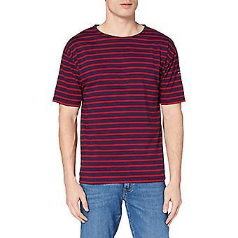 Armor Lux 1527, Men's T-Shirt, Blue (455 Navire/Braise 455), X-Small (Talla manufacturer: 1)
