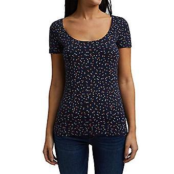ESPRIT 041EE1K353 Camiseta, 400/Azul Marino, XL Mujeres