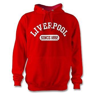Liverpool 1892 gevestigde voetbal kinderen hoodie