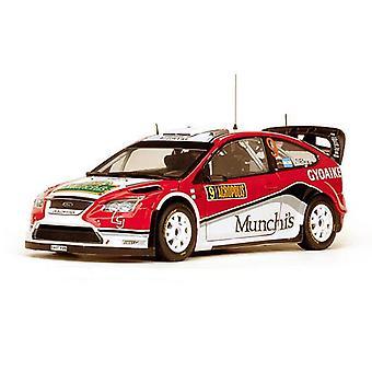 Ford Focus RS WRC08 (Federico Villagra - Rally Acropolis 2009) Diecast Model Car
