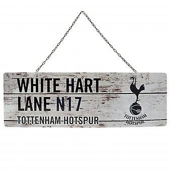Tottenham Hotspur Rustic Garden Sign