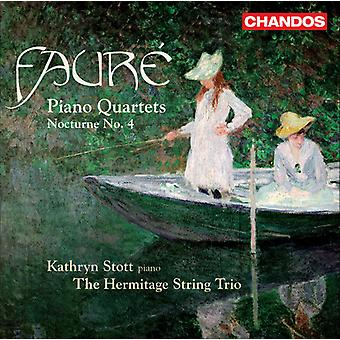 G. Faure - Faur : Piano Quartets; Nocturne No. 4 [CD] USA import