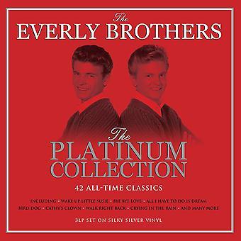 Everly Brothers - Platina samling Silver Vinyl