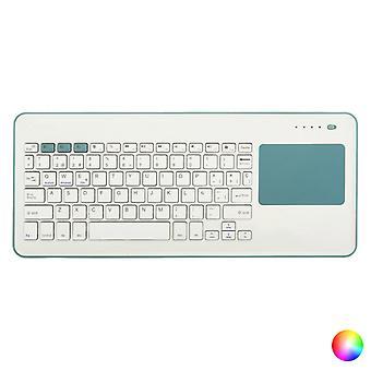 Wireless Keyboard Silver Electronics