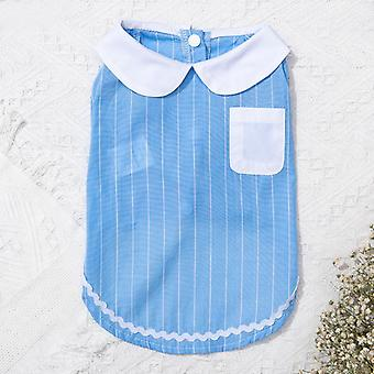 Spring and summer pet baby skirt muppet cat clothes