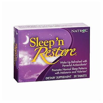 Natrol Sleep N Restore, 20 Tabs