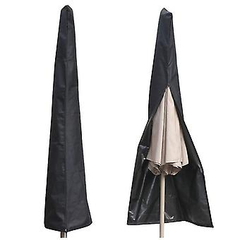 Umbrella waterproof Parasol Cover, Outdoor and Garden Umbrella Cover(26*57*190cm)