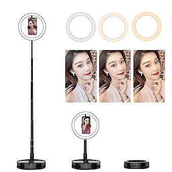 Dimmable Ring Light With Mobile Phone Tripod