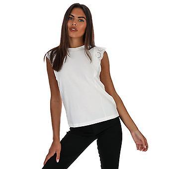 Women's Vero Moda Hollyn Jersey Top in White
