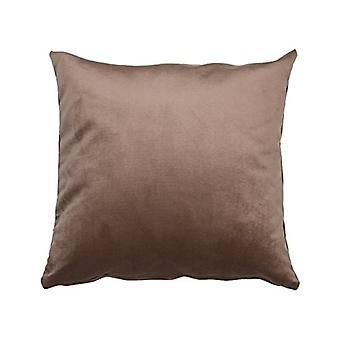 Kissen Samt 47020 Polyester Braun