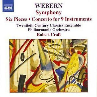 Anton Von Webern Symfonie op. 21 zes stukken (Craft Philharmonia Orchestra)