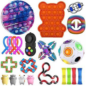 Lohill 22pcs Sensory Fidget Toys Kit Stress Relief Toys Set