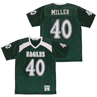 Hommes Miller #40 Basketball Jersey Stitched Sports Short Sleeve T-shirt Taille S-xxxl