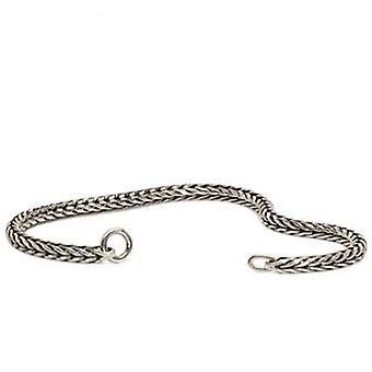 Trollbeads سوار الفضة الاسترليني 17cm tagbr-00008