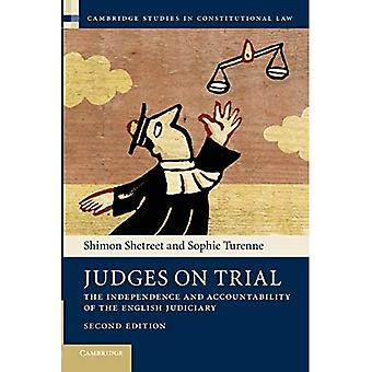 Judges on Trial: The Independence And Accountability Of The English Judiciary (Cambridge Studies in Constitutional...