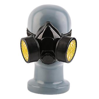 Emergency Survival Safety Respiratory Gas Mask With 2 Dual Protective Filter