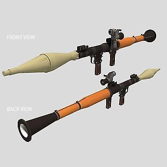 1:1 120cm Rocket Propelled Grenade - Diy 3d Paper Card Model Building Sets
