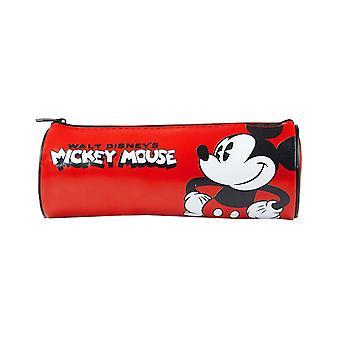 Mickey Mouse Childrens / Kids Barrel School Pencil Case