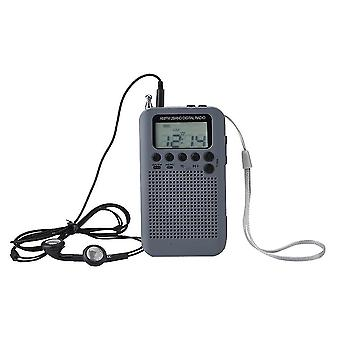 Radio numérique Am Fm double bande avec écran LCD et arphones