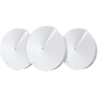 TP-Link Deco M9 Plus Sistema WiFi de Malha, 3-Pack, Powerline, Tri-Band, vi