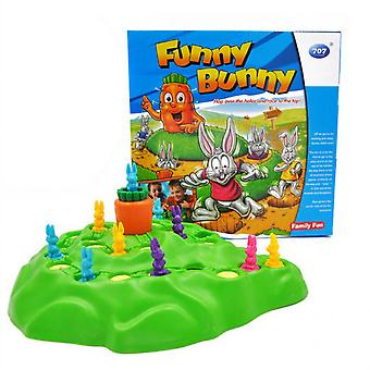 Rabbit Cross Country Children's Race Chess Family Fun Intellectual Table Family Game Toys