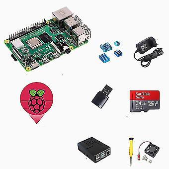 Computer starter kits rasberry pi 4 4gb starter kit with 64gb sd card