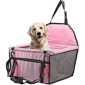 Vehicle pet barriers pet booster seat pink