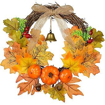 Herbstkranz Haustür Dekorationen, Künstlicher Herbstkranz